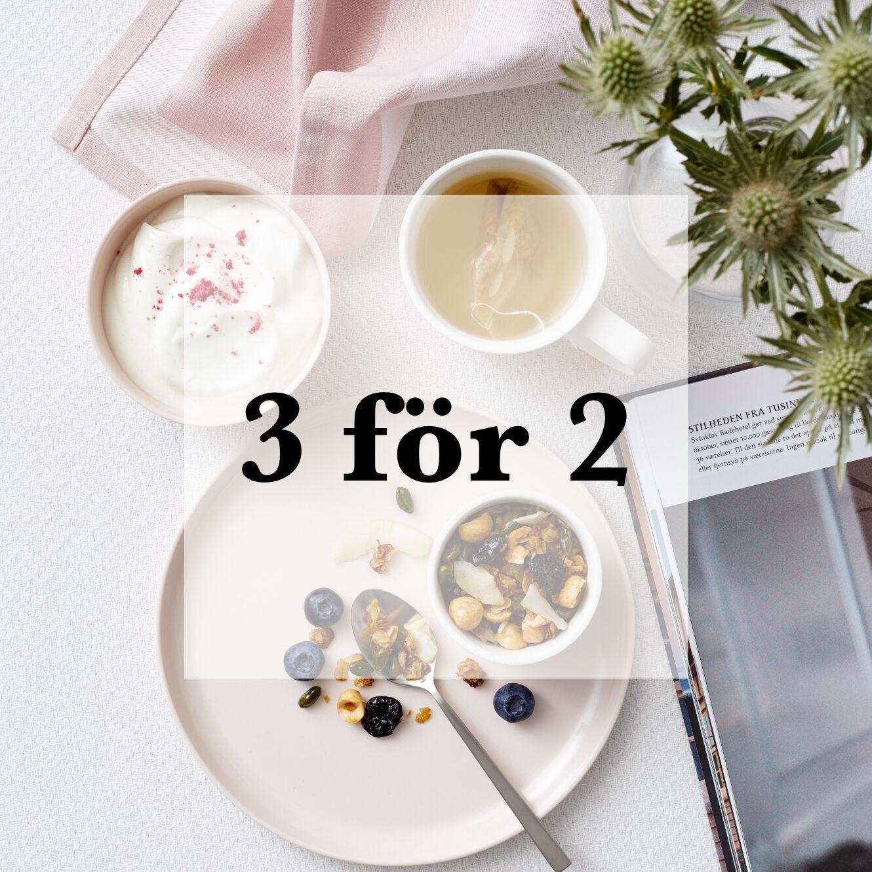 3 FÖR 2 PÅ ALLA NUDGE-PRODUKTER